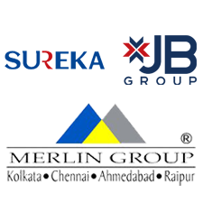 Merlin, Sureka & JB Group Logo