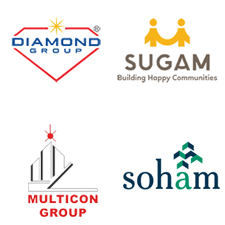 Sugam, Diamond, Soham & Multicon Group Logo